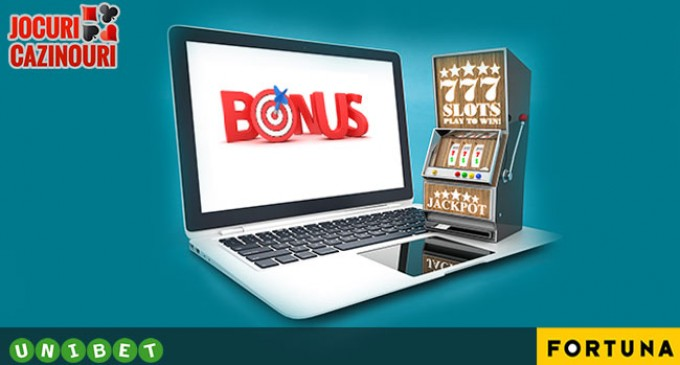 Bonusuri de bun venit la Unibet și Efortuna Casino
