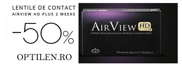 airview oferta lentile de contact