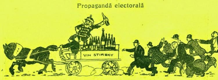 O noua metoda de a aduce oamenii la vot in...1911
