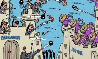 Asaltul Executivului asupra Parlamentului și a Puterii judecătorești