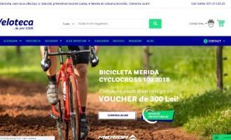 Magazinul de biciclete Veloteca are acum o noua infatisare in mediul online!