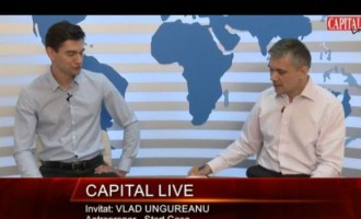Capital LIVE. Invitat: VLAD UNGUREANU Antreprenor   Criteriul National