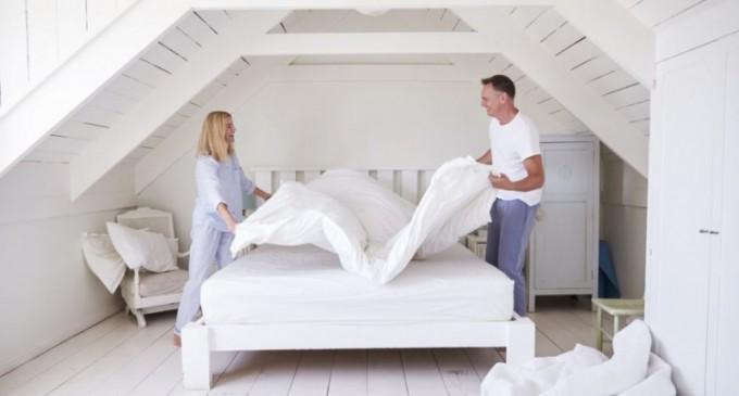 4 motive ca să-ți faci patul în fiecare dimineață