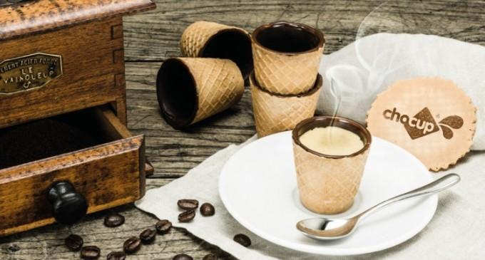 Paharele comestibile Chocup oferă savoare consumatorilor prin Saveo.ro