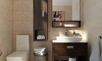 Soluția pentru o baie desprinsă din revistele de arhitectură