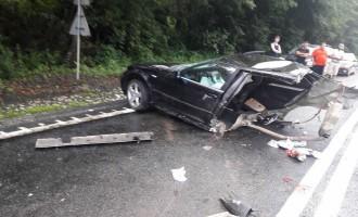 Accident produs pe DN1: O persoană a fost rănită grav. Traficul este blocat