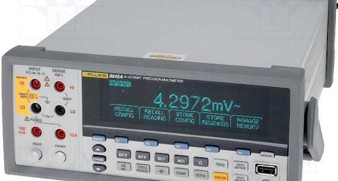 Multimetrul digital de laborator Fluke 8846, in oferta companiei Ronexprim