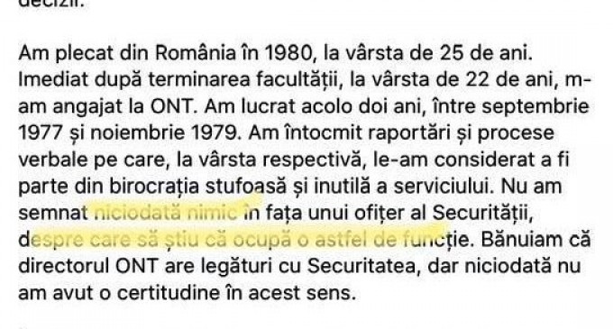 Cum taman o colaboratoare a Securității ca politie politica cu dosar de retea, nobody pe planeta, ajunge șefa USR București?