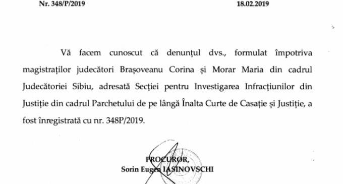 BOMBA: SIIJ cerceteaza judecatoarele din Sibiu care au legalizat succesiunea Forumului German condus de Iohannis dupa organizatia hitlerista Grupul Etnic German