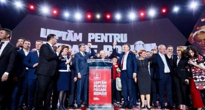 Digi24: VIDEO FOTO. Baronii au scos-o pe Dăncilă din poză. La prezidențiale candidează PSD