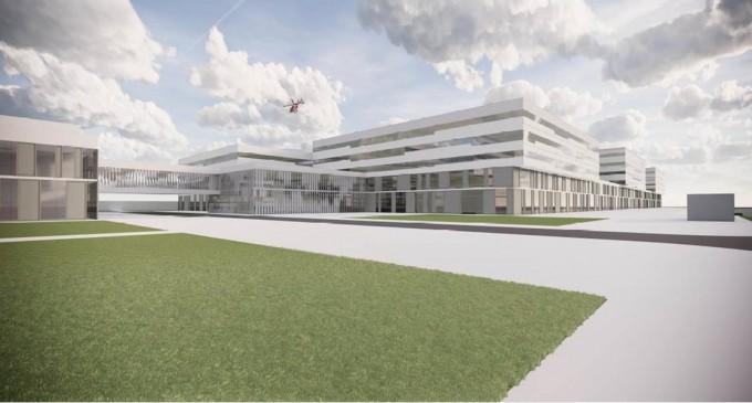Spitalul regional din Craiova va costa peste 600 de milioane de euro și va avea 7 etaje, 807 paturi, 19 săli de operație și heliport – Sanatate