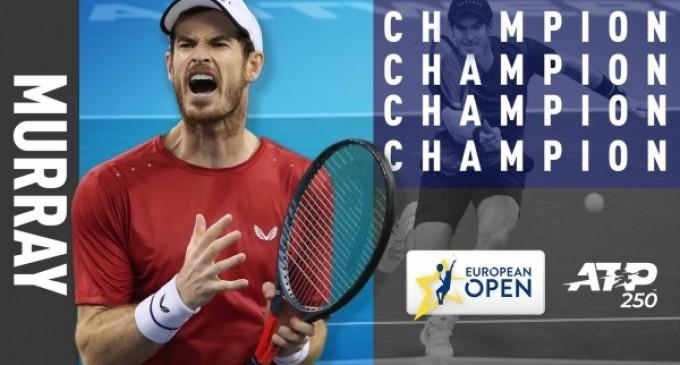 Andy Murray s-a întors! Britanicul, campion la Antwerp după un meci spectaculos cu Stan Wawrinka – Tenis