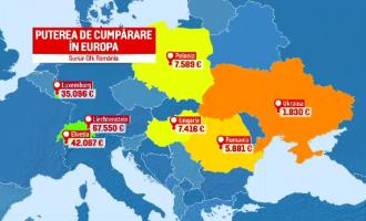 Stirile ProTV: Harta sărăciei din România. Bucureştenii, singurii care pot cheltui măcar 10.000 euro/an – Esential