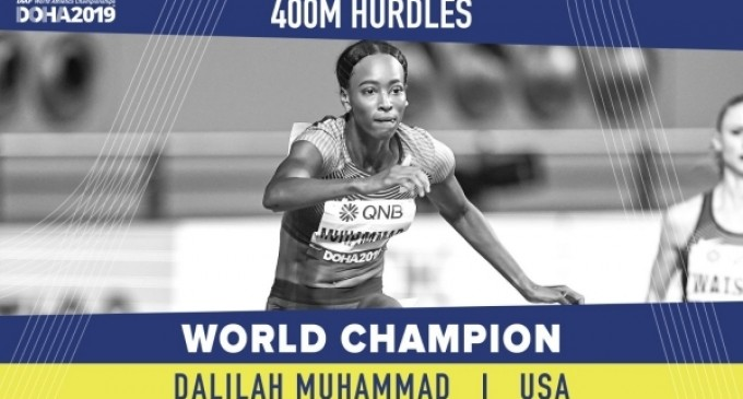 VIDEO CM Atletism: Americanca Dalilah Muhammad a stabilit un record mondial la 400 metri garduri – Alte sporturi
