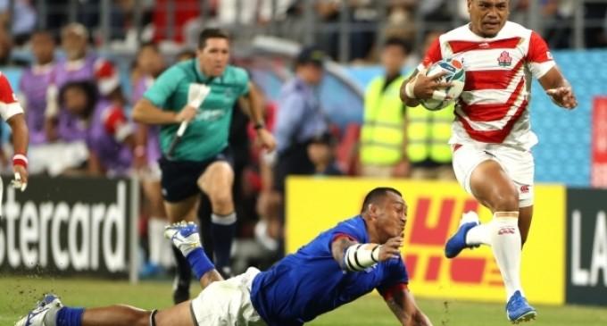 VIDEO CM Rugby: Anglia – Argentina 39-10 / Japonia – Samoa 38-19 – TeamBall