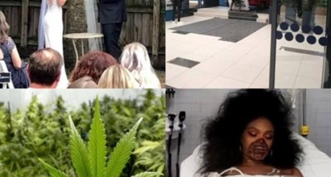 Faze tari: Fotografia unor miri a devenit ținta glumelor pe rețelele sociale. Ce au făcut cei doi; Și-a urmărit fosta iubită pe stradă, în ziua nunții, ca să o împiedice să se căsătorească – Faze Tari