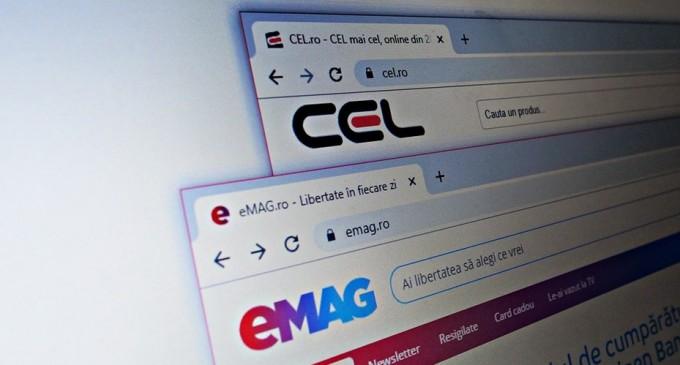 """CEL.ro versus eMAG: Controverse privind """"publicitatea înșelătoare"""""""