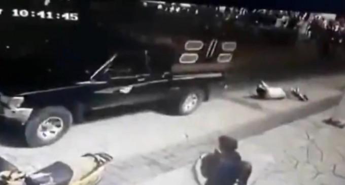 VIDEO Primar din Mexic legat de camion și târât prin oraș de cetățenii nervoși – International