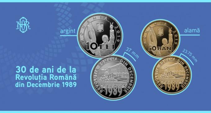 Monedă cu tema 30 de ani de la Revoluţia Română din Decembrie 1989, lansată de BNR în circulație – Finante & Banci