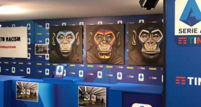 """Autorul lucrării cu maimuţe din cadrul campaniei antirasism din Serie A: """"Îmi pare rău că oamenii nu au înţeles ideea mesajului"""" – Fotbal"""