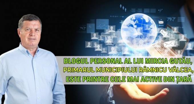 Blogul lui Mircia Gutău – Printre cele mai active bloguri de om politic din România