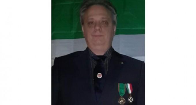 Silvano Bortolazzi -Cavaler al Ordinului de Merit al Republicii Italiene propus pentru Premiul Nobel Autor:Claudia Bota