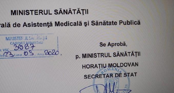 Protocol de tratament a infectiei cu virusul SARS-Cov-2/O.M.S a trasat sarcini stricte Romaniei