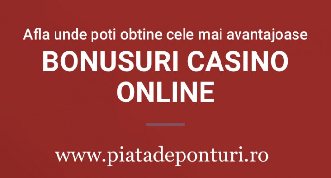 Bonusuri Casino-castiguri consistente care va ajuta sa va sporiti sansele de castig
