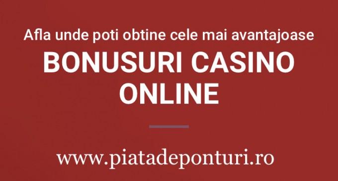 Bonusuri casino  o serie de beneficii pregatite jucatorilor pasionati