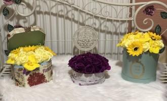 Flori de sapun, ornamente flori de sapun pentru sanatate si decorul casei