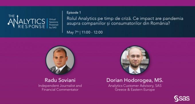 Rolul Analytics pe timp de criză. Ce impact are pandemia asupra companiilor și consumatorilor din România