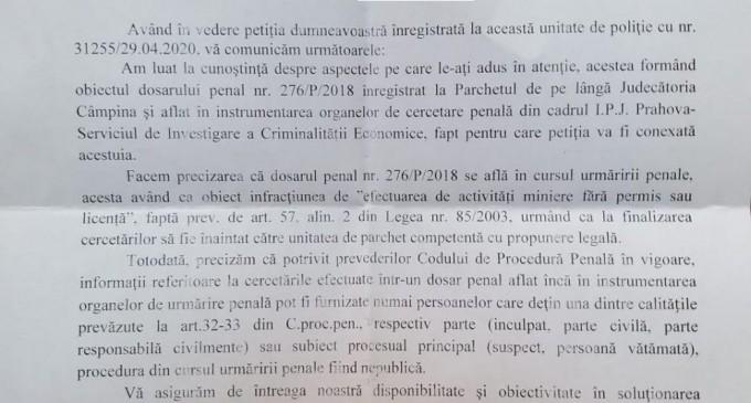 """IPJ Prahova, DNA ST Ploiesti, un SITE ARHEOLOGIC, noul director al Sucursalei Regionale Ploiesti Prahova (CNPR) si """"niscai"""" dosare penale – in mod suspect – tergiversate"""