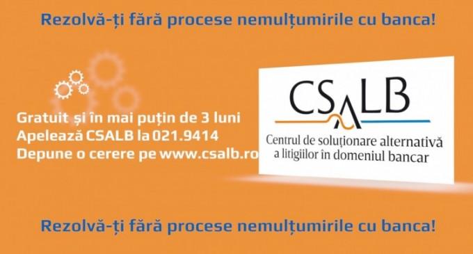 CSALB te ajuta sa pui capat litigiilor financiare abuzive