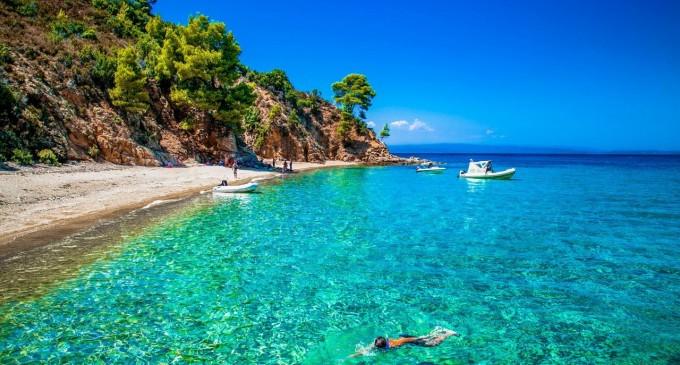 Plaje in Halkidiki