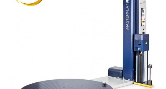 Maxoll îţi prezintă maşina de ambalat semi-automată cu folie stretch Masterplat Plus FRD și PGS.