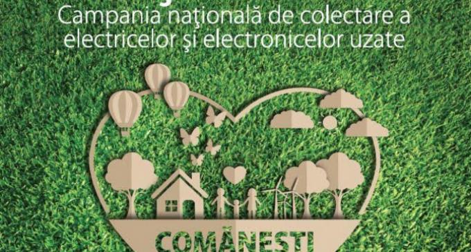 """webPR: Campania """"Orașe Curate"""" ajunge în Comănești – Mediu"""