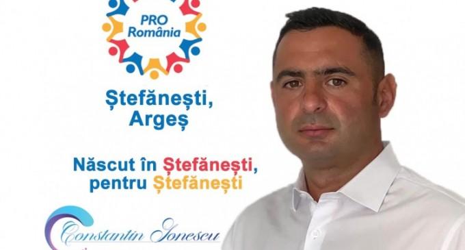 Cine este Constantin Ionescu, candidat ProȘtefănești care ne asigură că se ține de ProMisiuni?