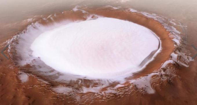 În tinerețea sa, Marte ar fi putut găzdui ghețari uriași – Spatiul