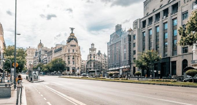 Fără maşini în Puerta del Sol, kilometrul 0 al Capitalei Spaniei – International