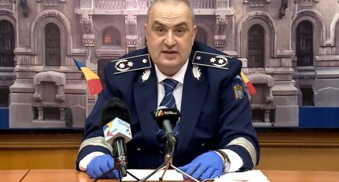 Liviu Vasilescu demisionează de la șefia Poliției Române