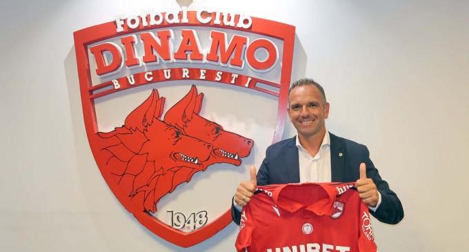 Moment istoric: Dinamo a fost vândută de Ionuț Negoiță unei societăţi străine – Benel International SA – Fotbal