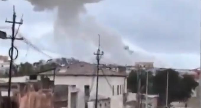 FOTO VIDEO Atac la un hotel din Mogadishu: Cel puțin 5 morți și peste 10 răniți – International