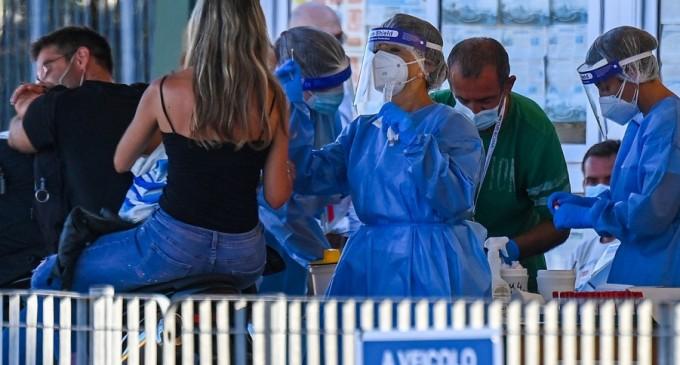 Coronavirus Italia: Nou record – Bilanțul zilnic depășește pragul de 7.000 de cazuri – Coronavirus
