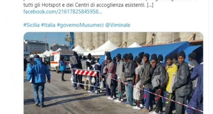"""Sicilia vrea să închidă toate centrele de găzduire a migranților / """"Nu mai putem continua să suferim această invazie de migranți"""" – International"""