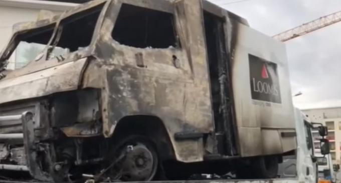 VIDEO Cel mai mare jaf din ultimii 11 ani în Franța: Hoții au furat 9 milioane de euro dintr-o mașină securizată – International