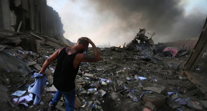 GALERIE FOTO Imaginile dezastrului din Beirut, după exploziile devastatoare – International