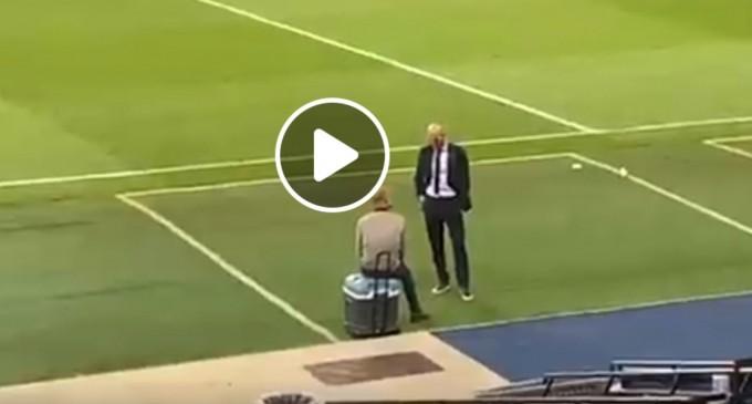 FOTO Ce au făcut Guardiola și Zidane la finalul partidei City vs Real – Imaginile au devenit virale – Fotbal