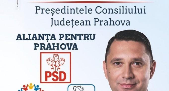 Votează Bogdan Toader- Președintele Consiliului Județean Prahova! Poziția 4 pe buletinul de vot!Votează Alianța pentru Prahova!