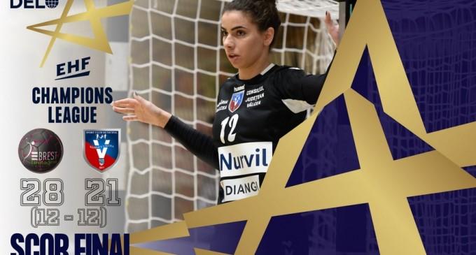 Liga Campionilor (handbal f): Brest Bretagne vs SCM Râmnicu Vâlcea 29-21, în primul meci din grupa B – TeamBall