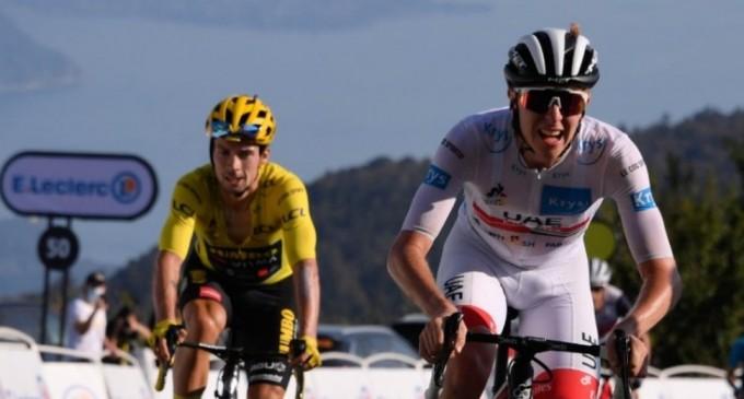 VIDEO Turul Franței: Slovenii domină competiția – Tadej Pogacar (UAE Team Emirates) s-a impus în etapa a 15-a / Primoz Roglic (Jumbo), lider la general – Alte sporturi